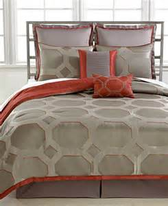 closeout alden 8 piece queen reversible comforter set