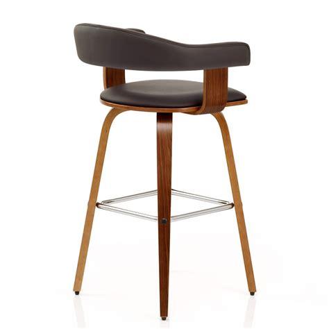 chaise de bar cuir chaise de bar faux cuir bois ontario monde du tabouret