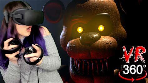 Five Nights At Freddys In Vr Fnaf 360 Reaction Doovi