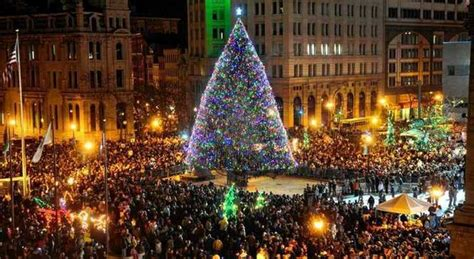 time square lighting will you be attending the clinton square tree lighting