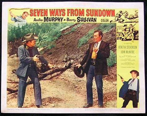 Seven Ways From Sundown '60 Audie Murphybarry Sullivan Us