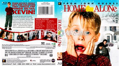 Dvd Cover Custom Dvd Covers Bluray Label Movie Art  Bluray Scanned Covers  H  Home Alone (1990