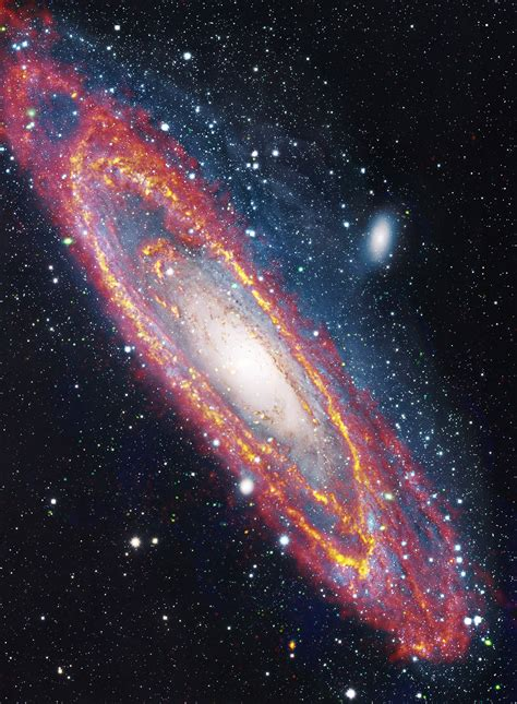 photos of herschel space telescope andromeda galaxy