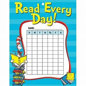 Cat In The Hat Reading Reward Chore Chart - EU-838135