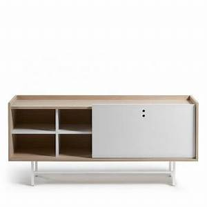 Buffet Scandinave Blanc Et Bois : buffet design bahut vintage et contemporain drawer ~ Teatrodelosmanantiales.com Idées de Décoration