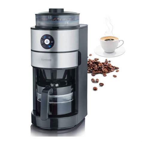severin kaffeemaschine mit mahlwerk severin kaffeemaschine ka 4811 mit integriertem mahlwerk