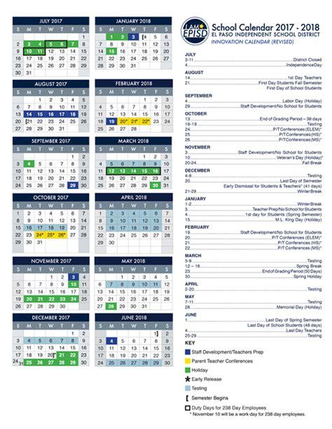 calendars episd vocal