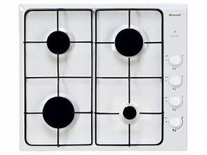 Plaque De Cuisson Gaz Conforama : table de cuisson gaz brandt bpe6410w brandt vente de ~ Melissatoandfro.com Idées de Décoration
