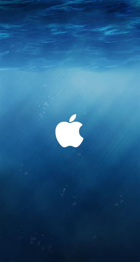 Apple Iphone 8 Wallpaper Hd by Apple Ios 8 Underwater Logo Iphone 5 Wallpaper Ipod