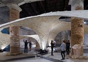 Armadillo Vault  Delicate Stone Canopy Held Together By