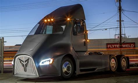 electric truck contender emerges  thor trucks