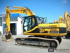 Jcb Js200lc Js240lc Js300lc Js450lc Tracked Excavators Service Repa