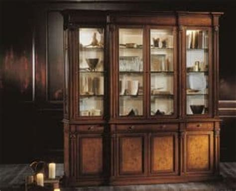 kitchen wood cabinet classic style display cabinet made of ash wood idfdesign 3503