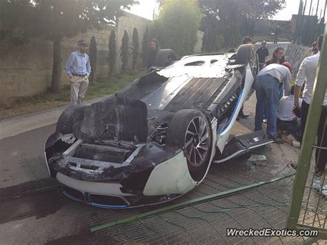bmw  flips  test drive crash  mexico doors open