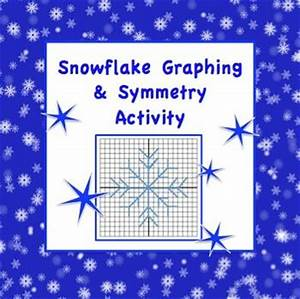Symmetry activities, Snowflakes and Math on Pinterest