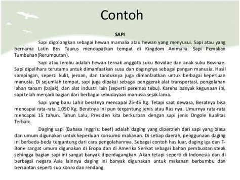 Contoh Teks Notulen by Contoh Hasil Observasi Geografi Id