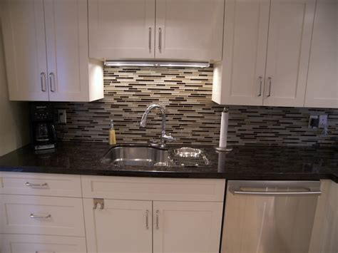 kitchen wall backsplash black glass tiles for kitchen backsplashes