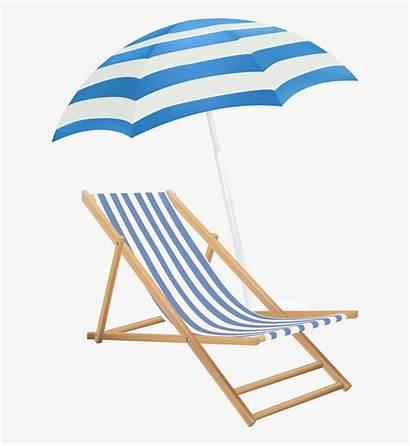 Chair Beach Umbrella Clipart Transparent Clip Background