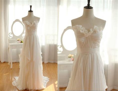 White Wedding Dresses,2016 Wedding Gown,chiffon Wedding