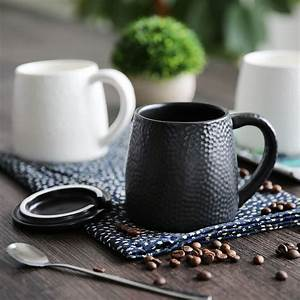 Simple, Cellular, Design, White, Black, Porcelain, Tea, Mug, Coffee, Milk, Mugs, Ceramic, Mug, Birthday