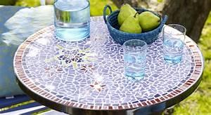 Table Mosaique Jardin : diy une table de jardin en mosa que prima ~ Teatrodelosmanantiales.com Idées de Décoration