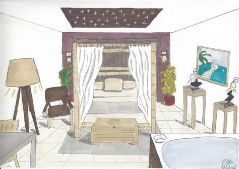 dessin de decoration d interieur l oeil de co cr 233 ation d une chambre d h 244 te l oeil de co