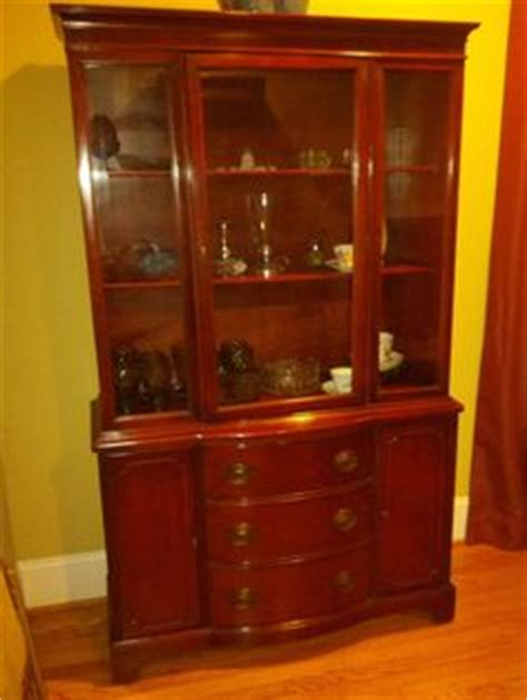 duncan phyfe china cabinet value duncan phyfe 1930s federal style china cabinet hutch