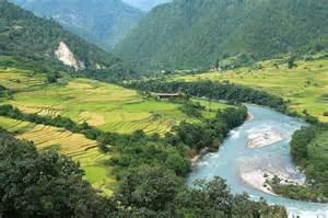 Punakha Valley Bhutan
