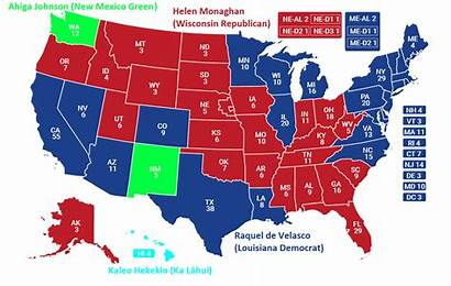 Election Presidential States 2064 United