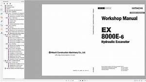 Hitachi Mining Crawler Excavator Ex Updated Series Ex