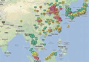Carte Pollution Air : que faire devant les indices de pollution montrant des taux alarmants en asie perdu en asie ~ Medecine-chirurgie-esthetiques.com Avis de Voitures