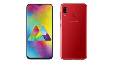 samsung galaxy a20 galaxy m20 price in india specs and features compared technology news