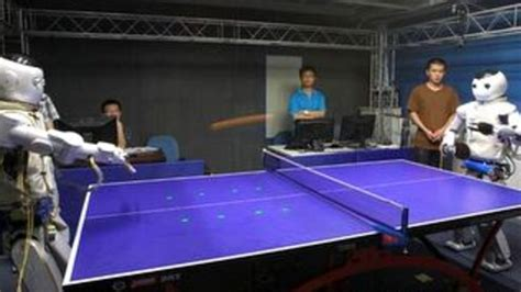 table tennis near me chinese robots play ping pong