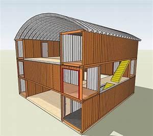 Container Haus Bauen : modern shipping container house plan design small rental ~ Michelbontemps.com Haus und Dekorationen