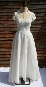 Stunning 197039s priscilla of boston beaded wedding dress for Boston wedding dresses