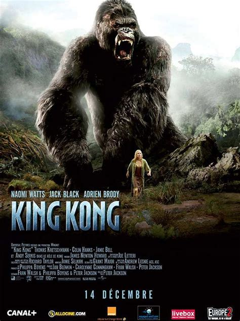 regarder king kong en direct play tv