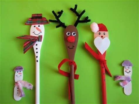 kerst knutsel met pollepels kerst pinterest reindeer