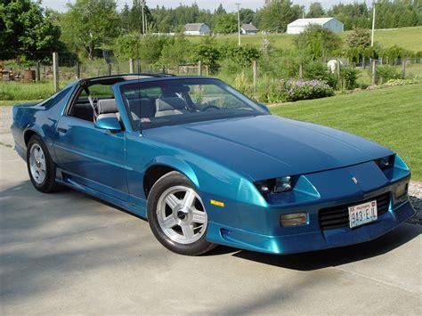 1992 Chevrolet Camaro  Information And Photos Zombiedrive