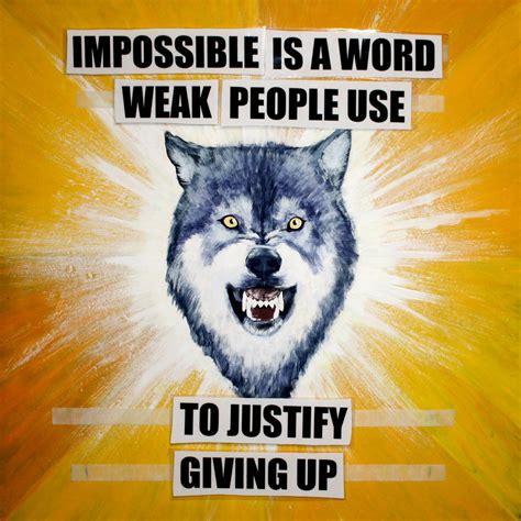 Courage Wolf Meme - courage wolf by israfelx on deviantart