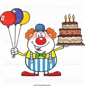 Birthday Clown Clipart