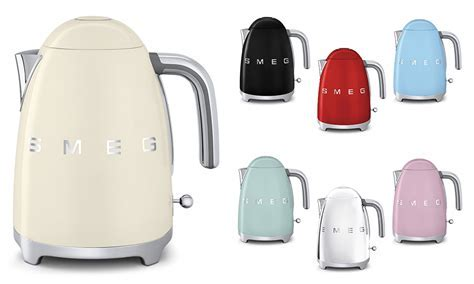 Smeg 50's Style Retro Electric Cordless Kettle   Stainless