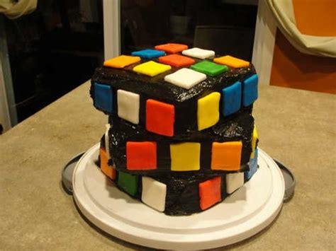 rubiks cube cakes   craft