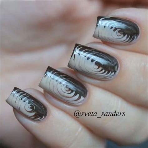 cute  creative swirl nail art hative