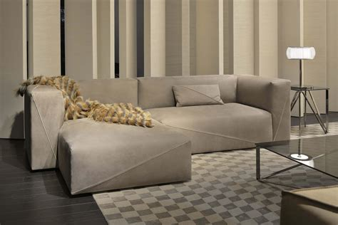 chaise longue casa fendi sofas diagonal sectional sofa lounge sofas from