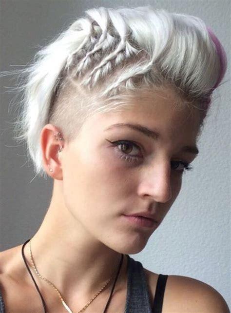 strähnchen kurze haare undercut frisuren f 252 r frauen open project
