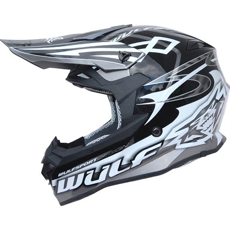 wulf motocross wulf sceptre motocross helmet wulfsport off road sports mx