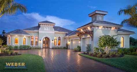 1 Story Mediterranean Style Homes With  Modern Home