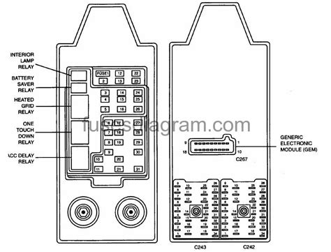 2003 Ford Expedition Fuse Box Diagram 5 4l by Fuses And Relays Box Diagram Ford Expedition