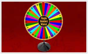 Magic Number Wheel