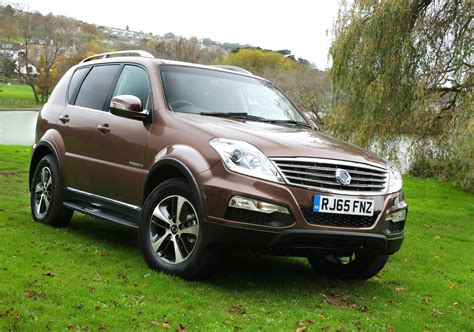 2016 Ssangyong Rexton Gains New Engine & Mercedes-sourced